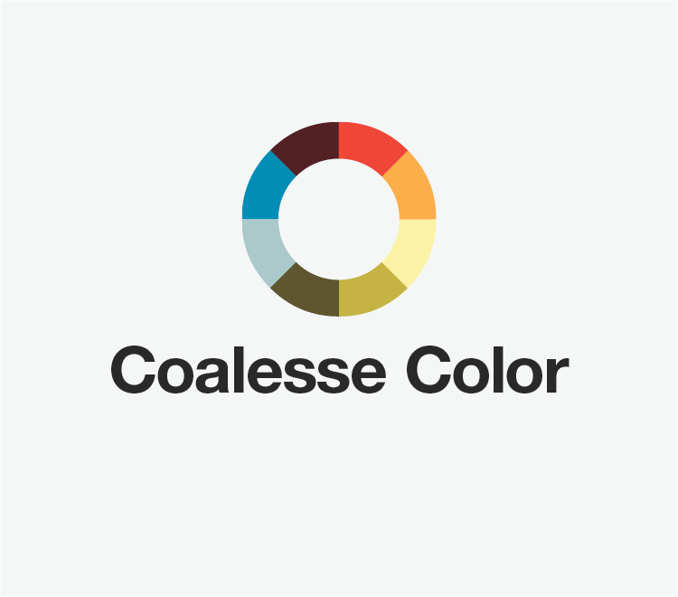 Colorwheel logo for Coalesse Color Program