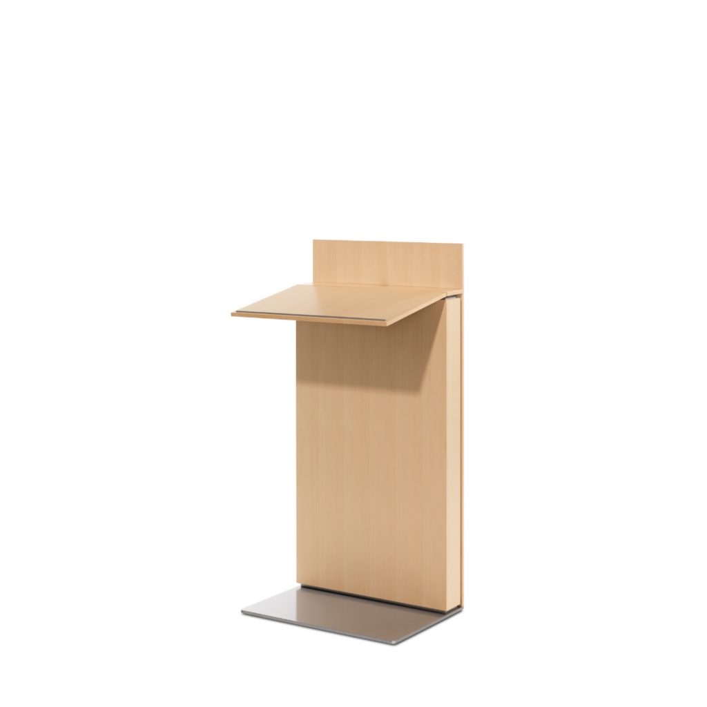 Exponents wooden presentation lectern for office conference rooms